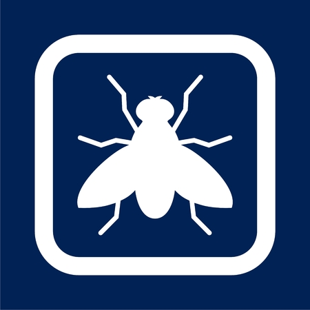 Fly icon - vector illustration Illustration