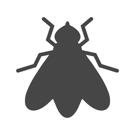 Fly icon vector Illustration