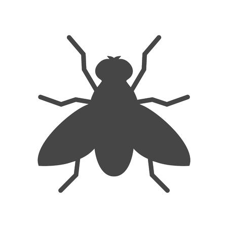 Ikona mucha - ilustracja wektorowa