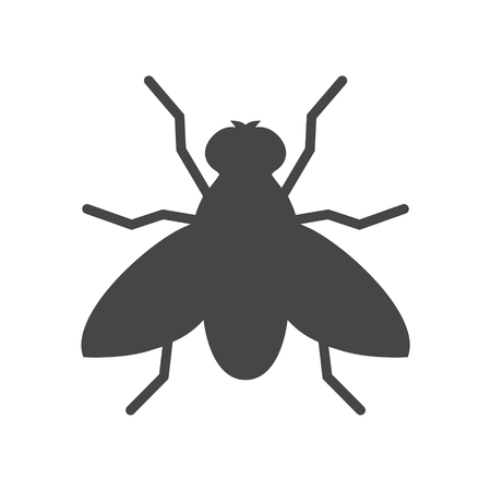 Fly icon - vector Illustration Illustration