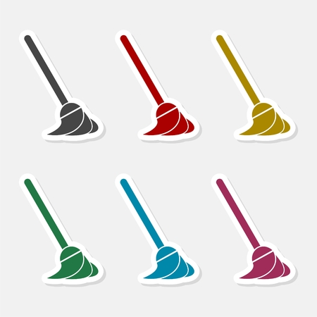 Cleaning icon - Vector illustration.