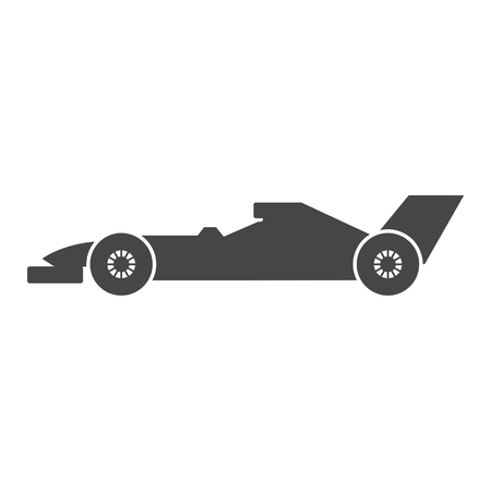 Race car - vector illustration. Illustration