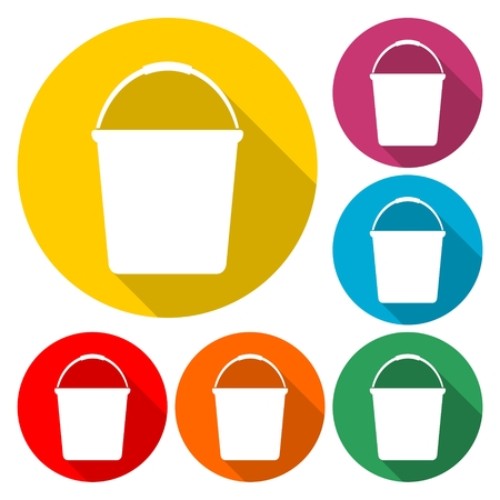 Water bucket vector illustration Illustration