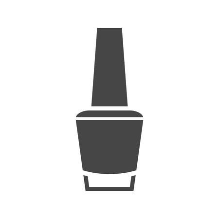 Vector nail polish - Illustration