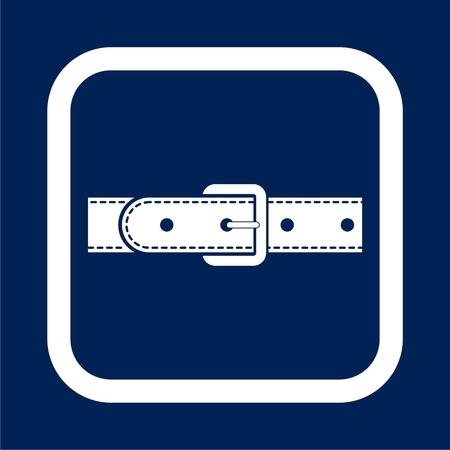 Belt icon - vector Illustration Illustration