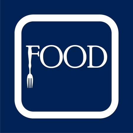 Food vector icon Illusztráció