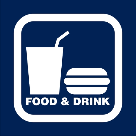 Foods and Drinks Icon - Illustration