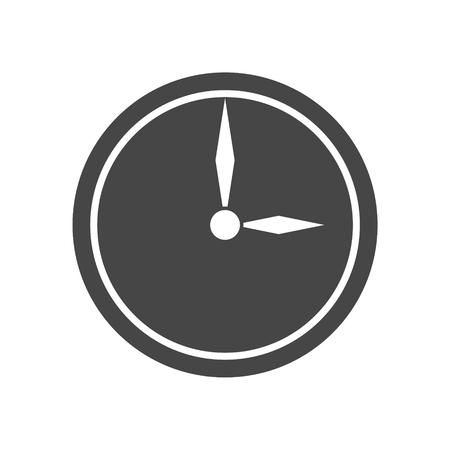 Clock icon Stock Illustratie