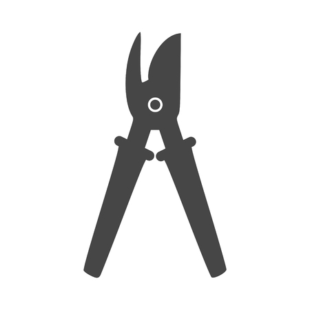 Garden shears icon - Illustration Ilustracja