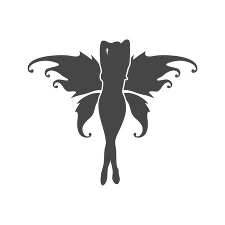 Fairy Icon Flat Graphic Design - Illustration