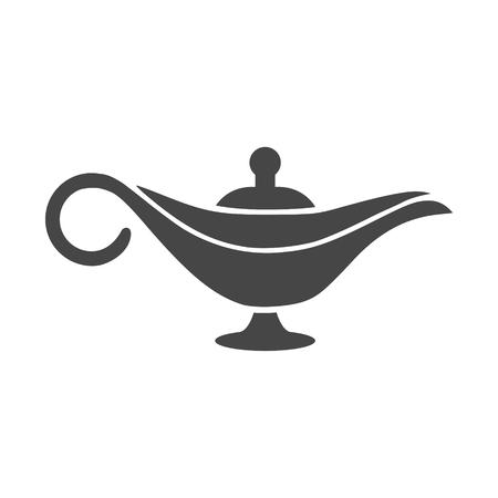 Magic lamp icon - Illustration Illustration