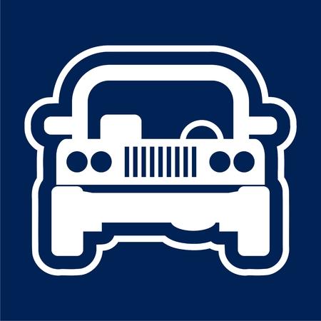 Offroad car - Illustration Illustration