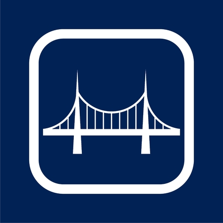 Bridge icon - Illustration