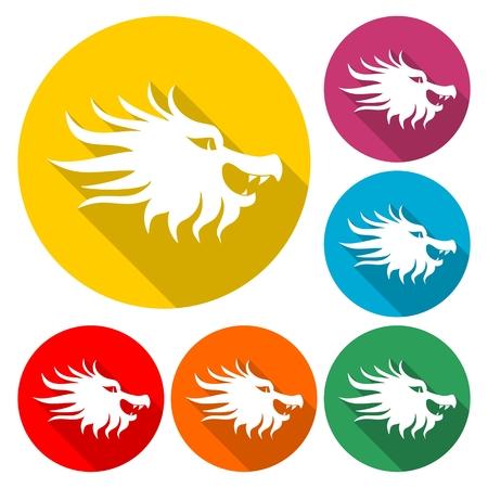 Dragon mascot Illustration