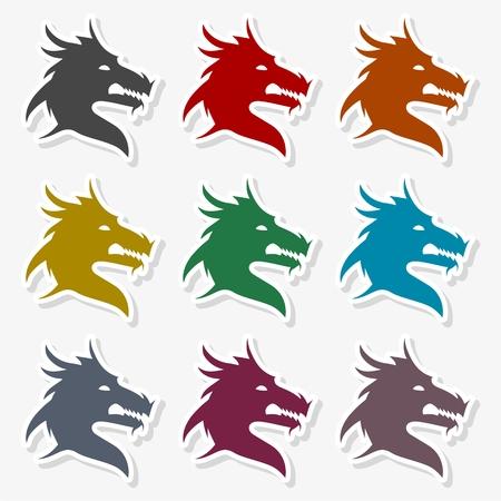 Dragon mascot - Illustration