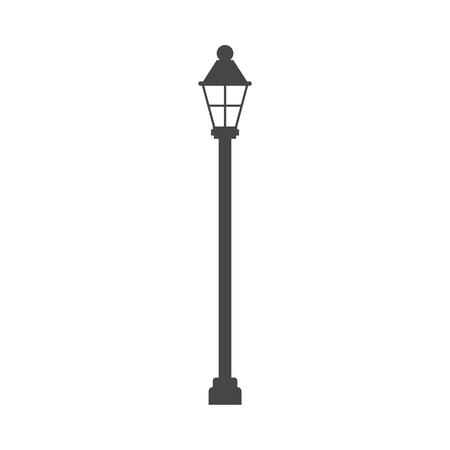 街灯アイコン - イラスト  イラスト・ベクター素材
