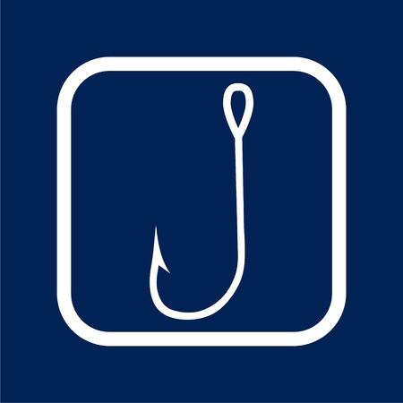 Hook icon - vector Illustration Illustration