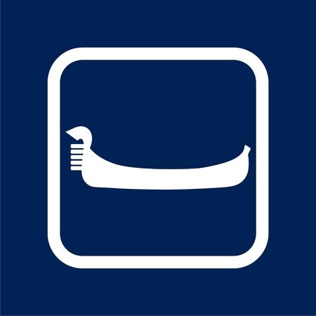 Gondola icon - Illustration