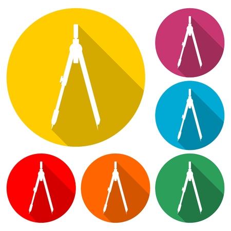 School divider vector illustration Illustration