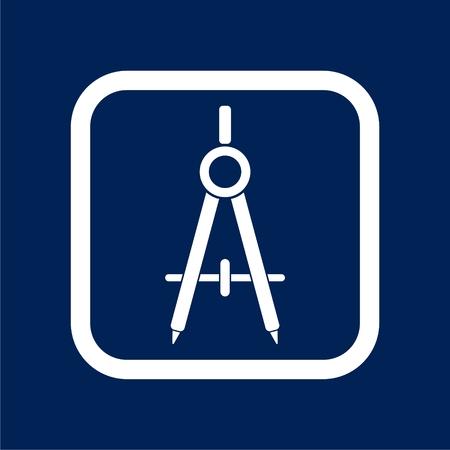 School divider icon - vector illustration Illustration