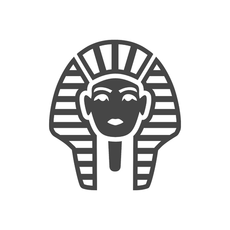 Pharaoh icon - simple vector Illustration Stok Fotoğraf - 95805052