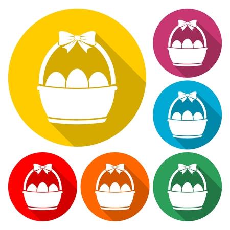 Easter basket - Illustration