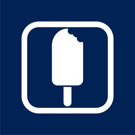Ice cream icon, Popsicle Icon - Illustration Illustration