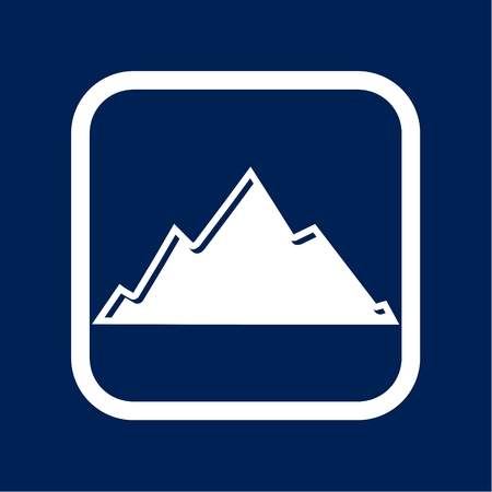 Mountain icon illustration Stock Vector - 99112523