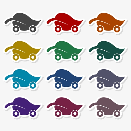 Eco Car - Illustration