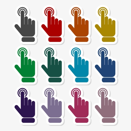 Touch icon - Illustration