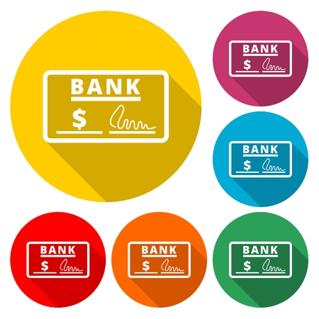 Blank check - Illustration