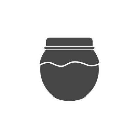 Jam Jar Vector Icon Illustration