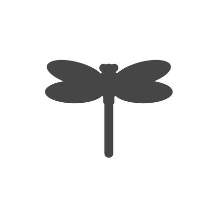 Dragonfly insect vector