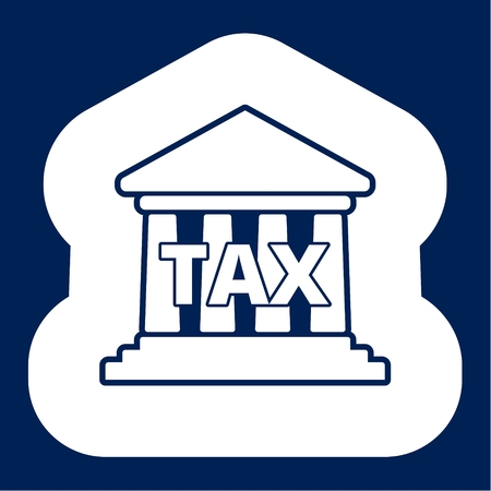 Tax Bank building icon