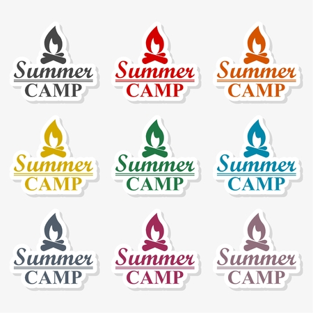 Summer camp - Illustration