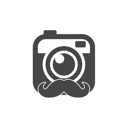 Hipster photo Camera icon