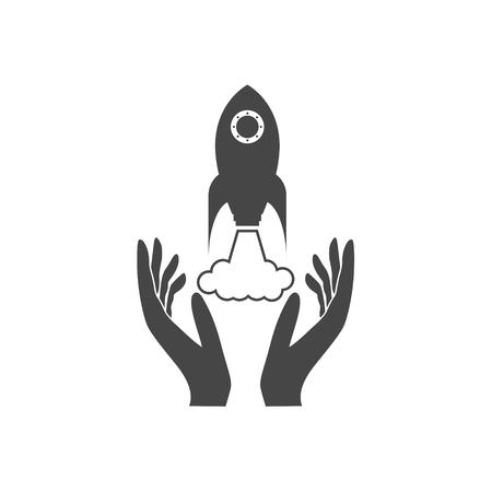 Business start up icon - Illustration
