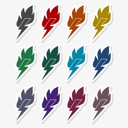 Lightning Power Energy Logo