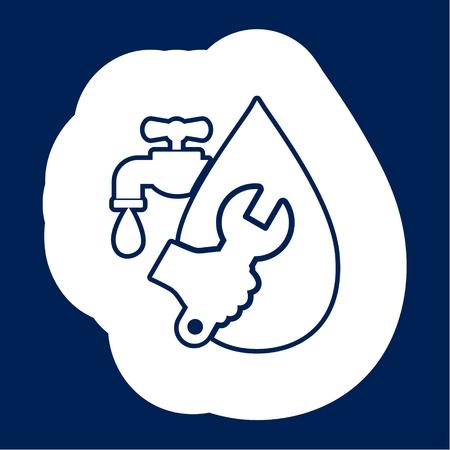 Service plumbing and sanitary ware, Repair of water pipe