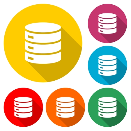 Database Icons - Illustration