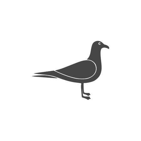 Seagull Silhouette - Illustration Ilustração
