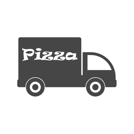 Pizza delivery Ilustrace