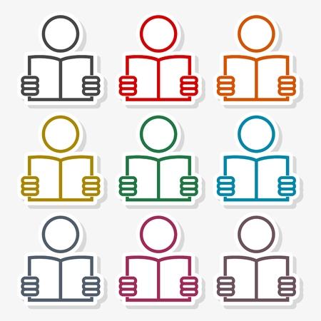 Read newspaper logo vector