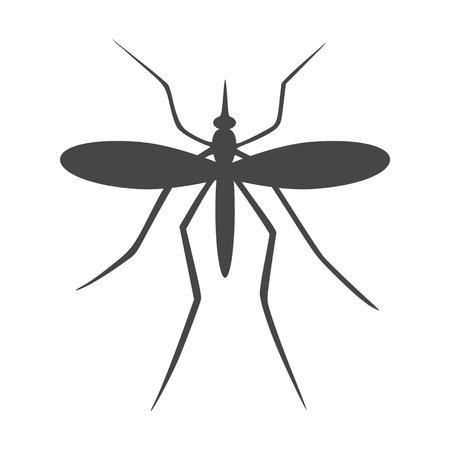 Mosquito Icon Flat Graphic Design - Illustration