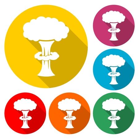 Nuclear explosion Illustration