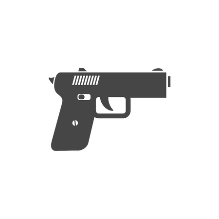 Gun icon illustration