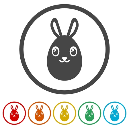 Eggs icons set - Illustration 矢量图像