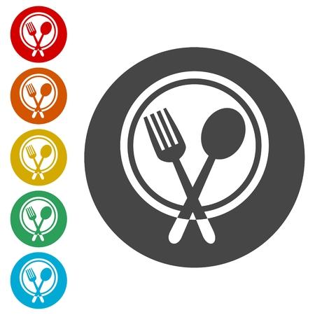 Cutlery Icons - Illustration