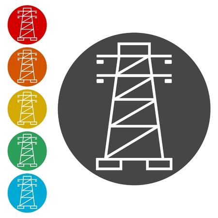 Power Line Icons set