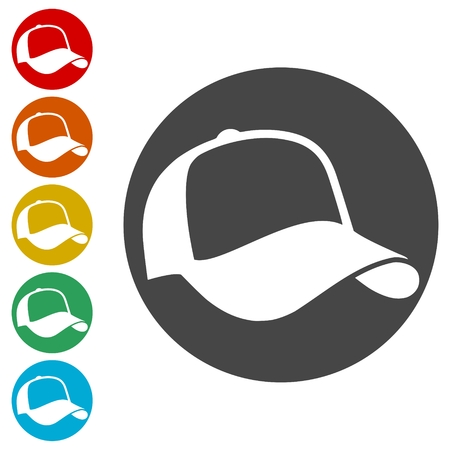 Cap Icons set - Illustration